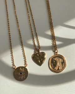 Cleopatra Coin Necklace