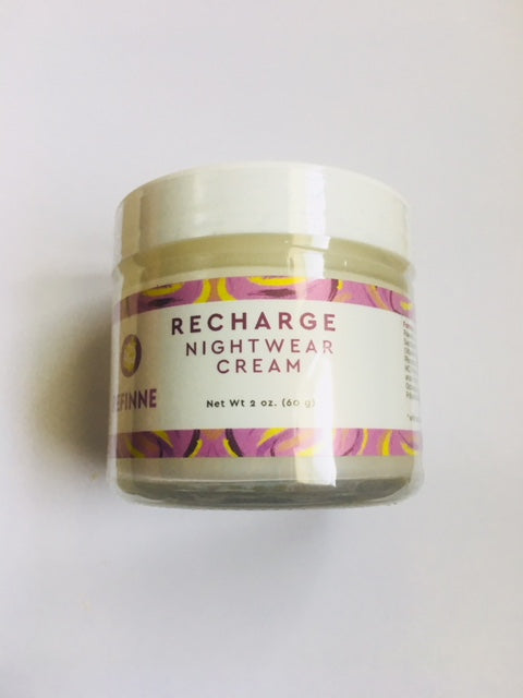 RECHARGE Night Cream and Spot Corrector