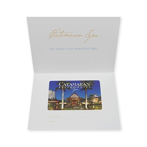 Catamaran Resort Hotel and Spa Gift Card with Notecard