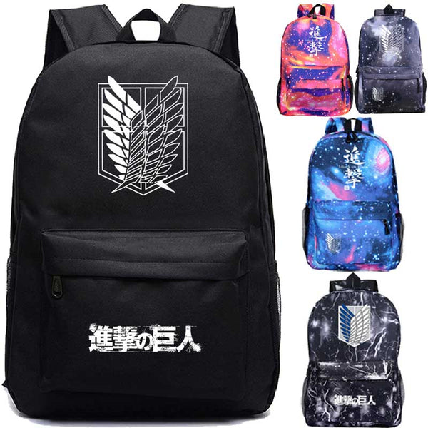 Attack on Titan Backpack For Boys Boys Girls Bags