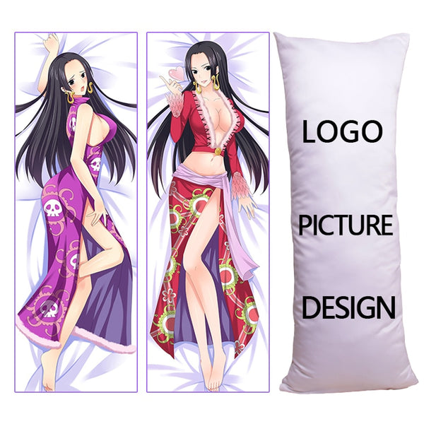 Anime Girl Body Pillow Case