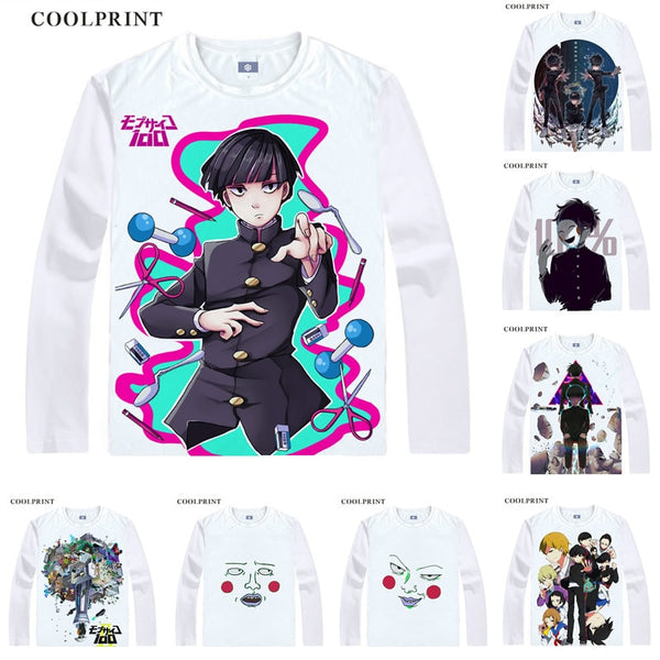 Mob Psycho Long Sleeve T-Shirts
