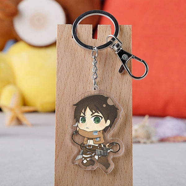 Attack on Titan Keychain Double Sided Acrylic Key