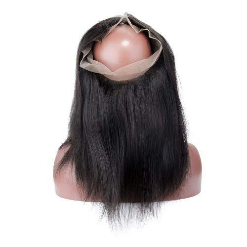 Straight #1B Natural Black 360 Lace Frontal
