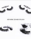 3D Mink Eye Lashes A09