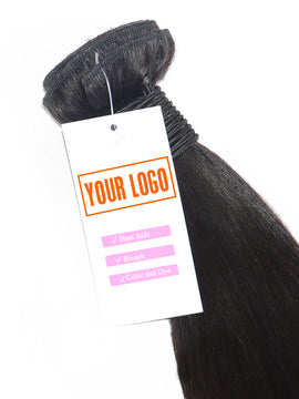 Custom Hair Bundles Tags -Logo by You- 1000PCS for $80