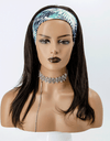 Grab-N-Go Headband Wigs 100% Straight Virgin Human Hair Wigs