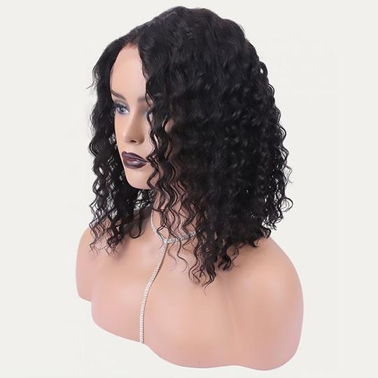 HD Undetectable Transparent Water Wavy Lace Front Wig