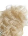 16 to 26 Inch #613 Lightest Blonde 10pcs Body Wave Clip In Human Hair Extensions
