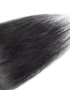 16 to 26 Inch #1B Natural Black 10pcs Straight Clip In Human Hair Extensions