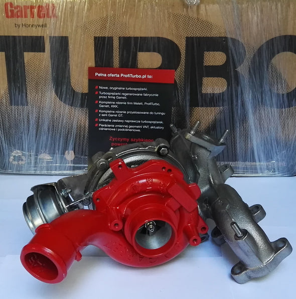 GTB1756VK Garett Hybrid Turbo converted and welded onto stock 1.9 or 2.0TDI by Gottuned