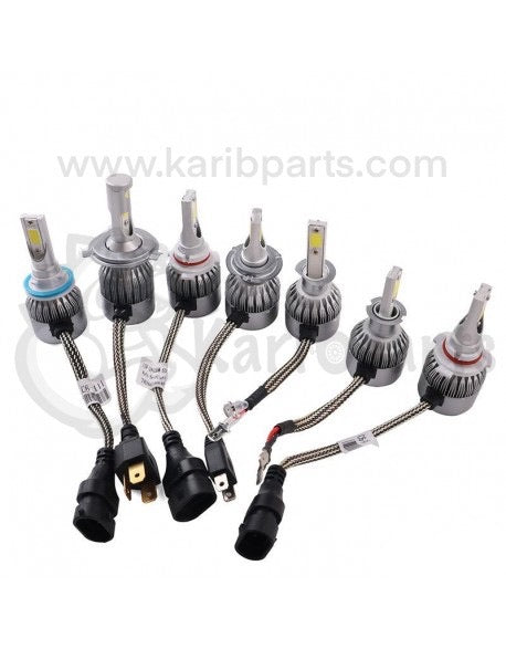 KIT LED H4 karibparts 72W 7600LM 6000K