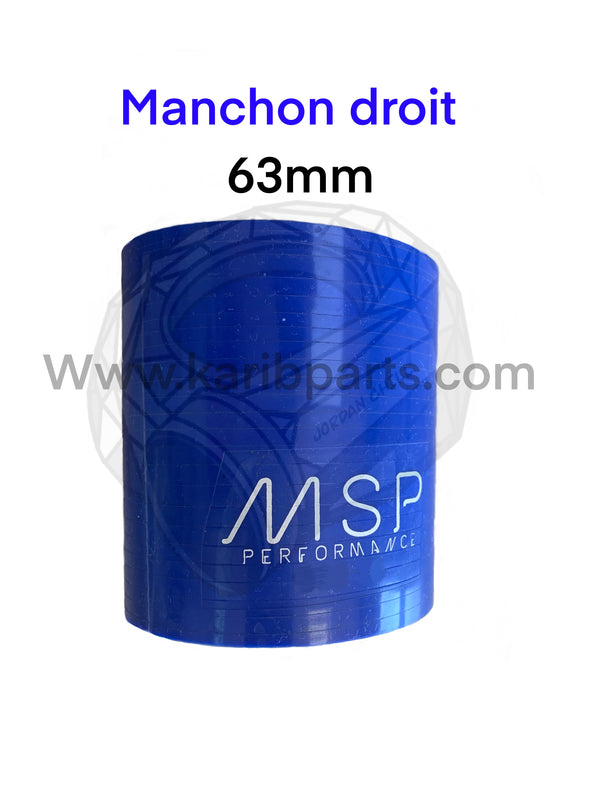 Manchon droit msperformance 76mm de longueur