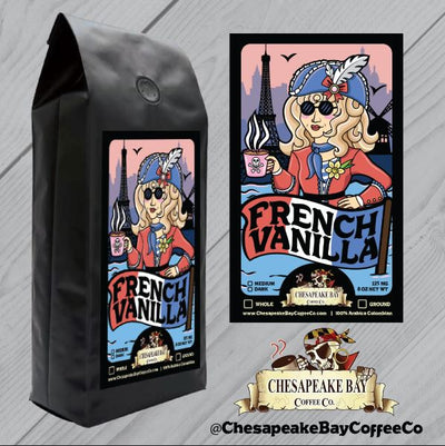 French Vanilla- Ground 1/2 Ibs.