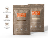 Rogue Cocoa Dutch Chocolate and Rogue Cocoa Vanilla Bean Keto Combo Pack