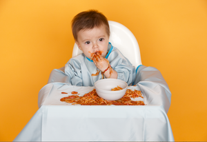 long sleeve bib for Baby led weaning
