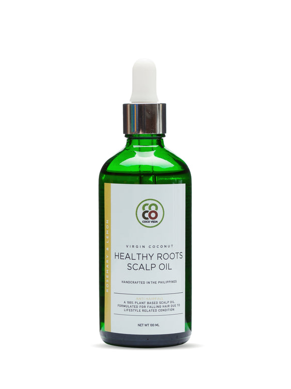 Virgin Coconut Healthy Roots Scalp Oil - Anti Hair Fall (100ml)