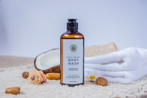 Virgin Coconut Body Wash - Mild & Gentle Coconut (300ml)