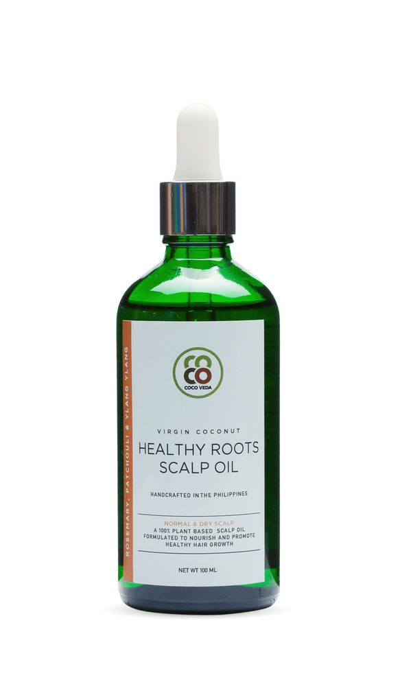 Virgin Coconut Healthy Root Scalp Oil - Normal & Dry Scalp (100ml)