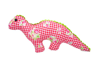 Mr. Dino Handmade Plush Toy