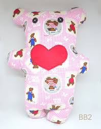 Handmade Backrest Bear Huggie