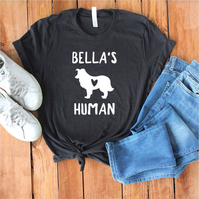 Personalized Sheltie Shirt - Unisex Premium T-Shirt  Bella + Canvas 3001