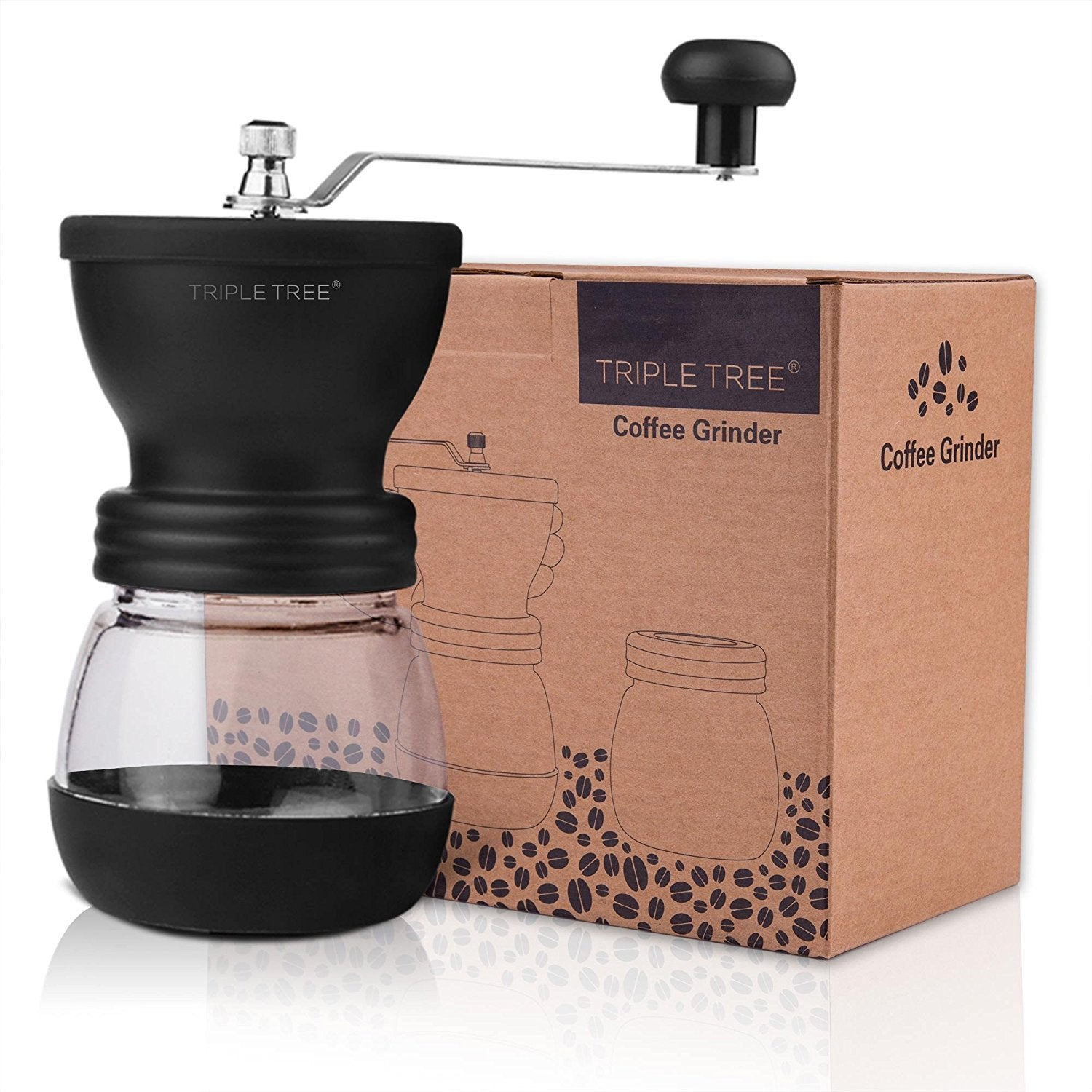Manual Coffee Mill Grinder with Ceramic Burrs - Zip & Mos