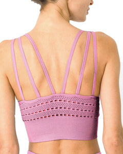 Mesh Seamless Set - Pink - Zip & Mos