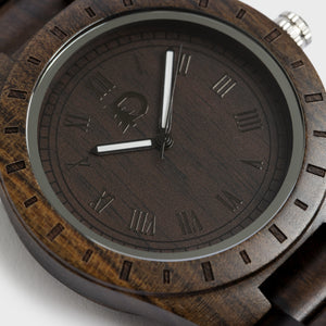 Men's Stylish Wood Watch - Zip & Mos