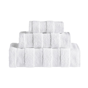 Apogee collection 3 Pcs Towel Set - Zip & Mos