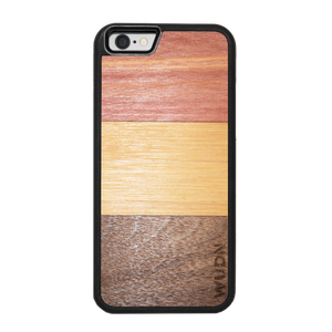 Slim Wooden Phone Case | Ombre Inlay - Zip & Mos