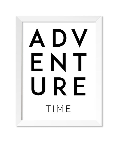 Adventure Time Art Print - Zip & Mos
