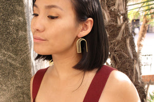 PORTE Earrings - Zip & Mos