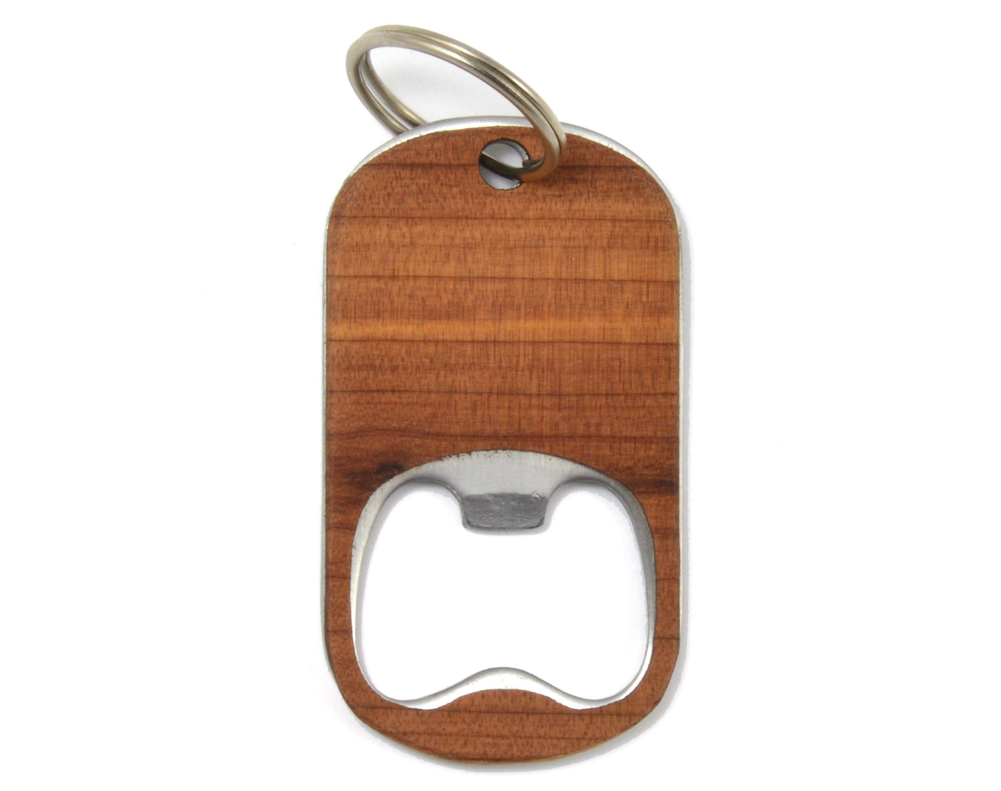 Bottle Opener Keychain - Zip & Mos