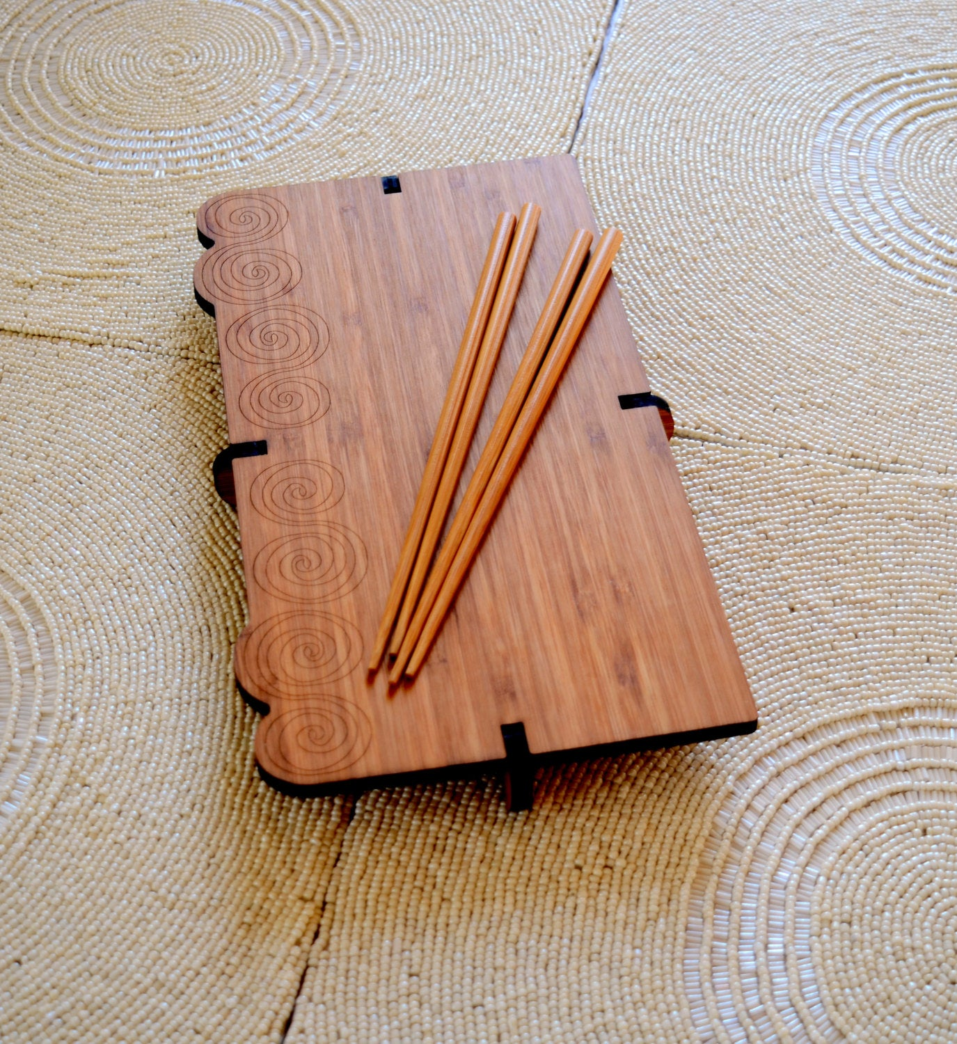 Bamboo Sushi Serving Sets - Zip & Mos