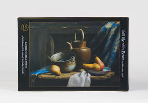 Still Life with Pears;500-Piece, Velvet-Touch, Jigsaw Puzzle - Zip & Mos
