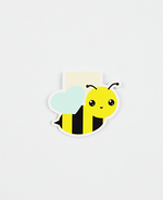 Load image into Gallery viewer, Bee Magnetic Bookmark - Zip & Mos