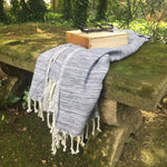 Load image into Gallery viewer, Yalova Eco-friendly Ultra Soft Marbled Towel - Blue - Zip & Mos