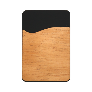 Wooden Phone Wallet - Zip & Mos