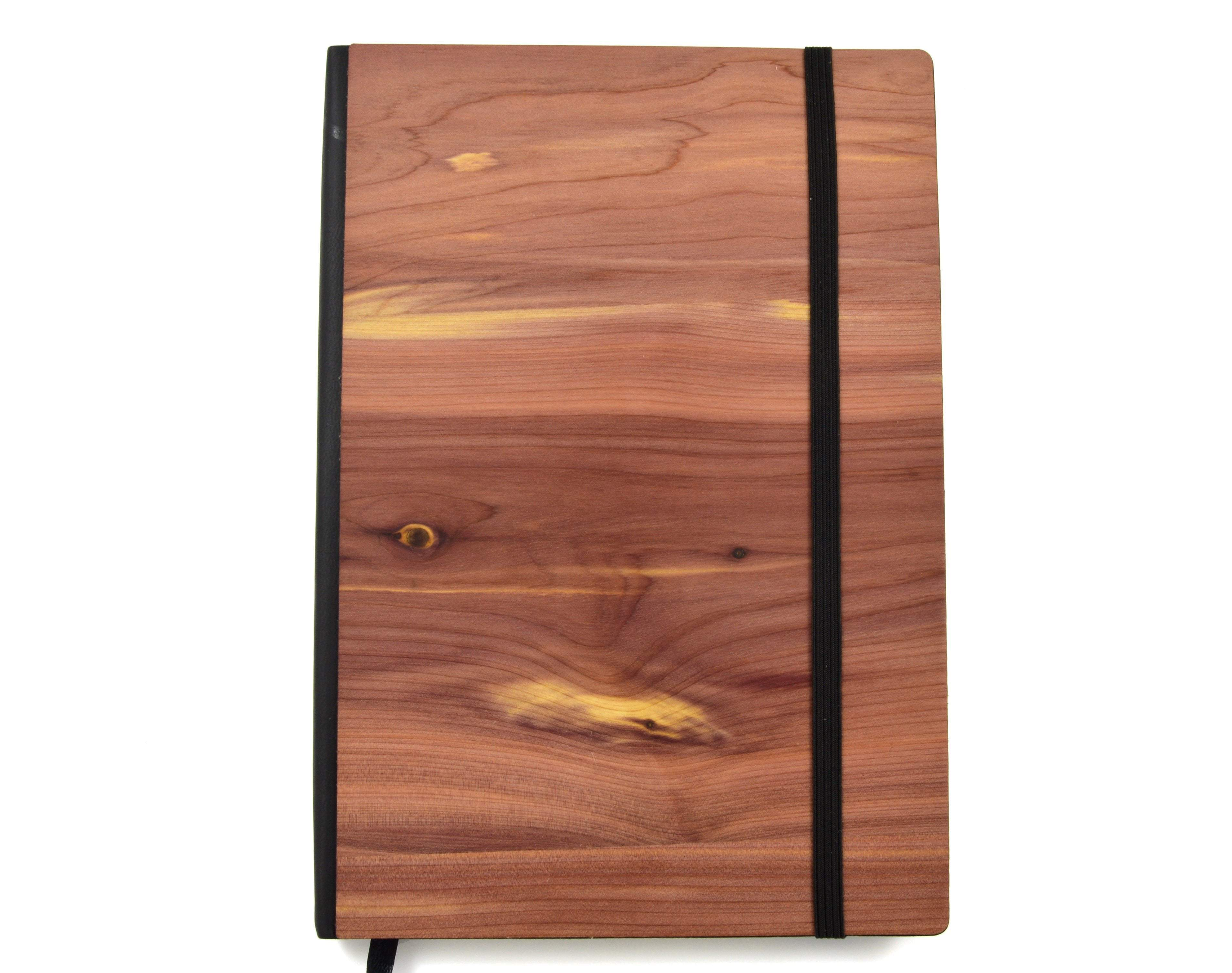 Classic Wood Design Notebook - Zip & Mos