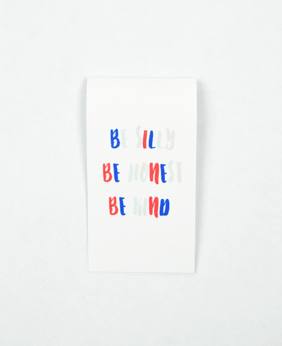 Be Silly Magnetic Bookmark - Zip & Mos