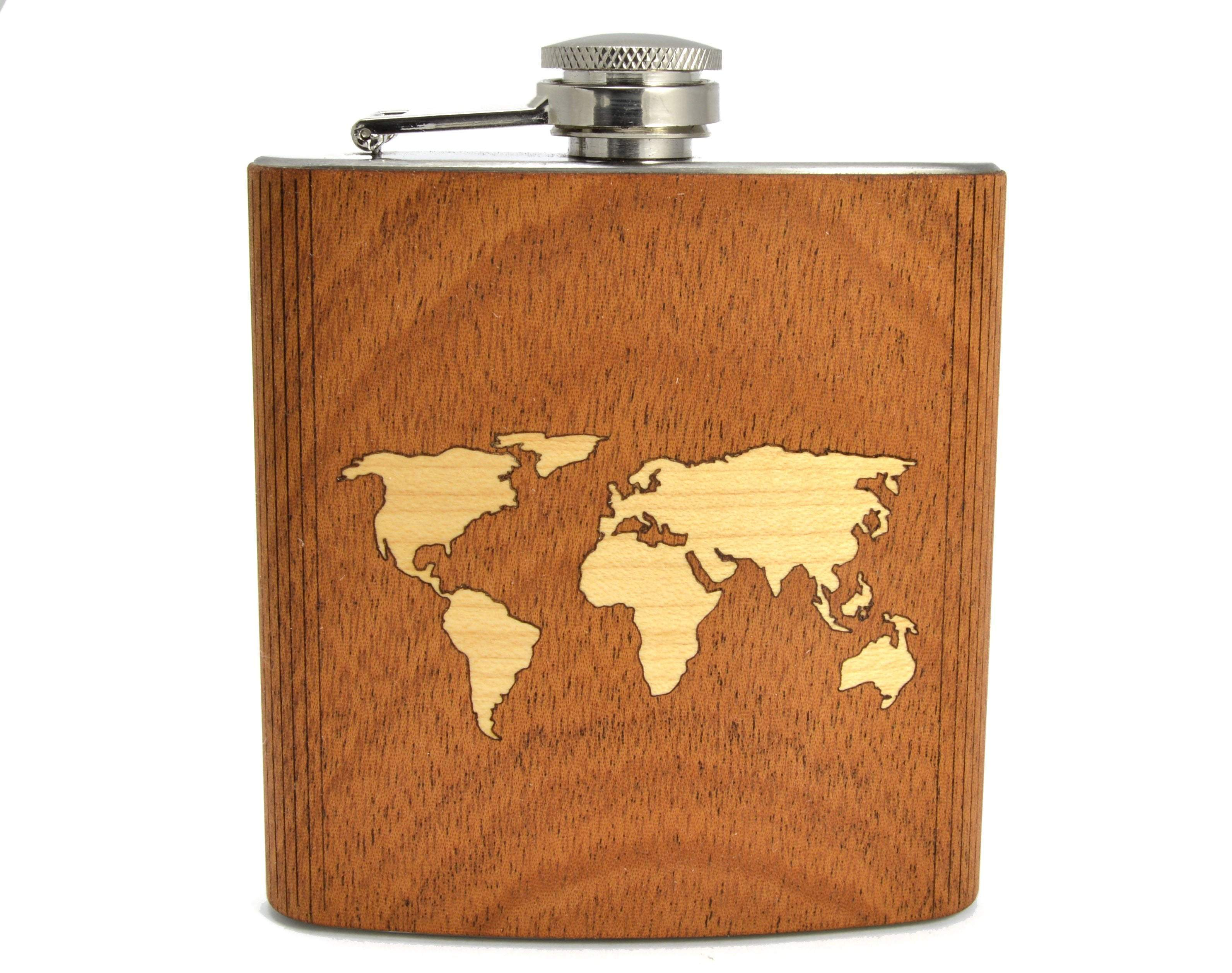 Travel Flask - Zip & Mos