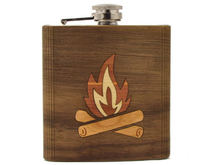 Camping Flask - Zip & Mos