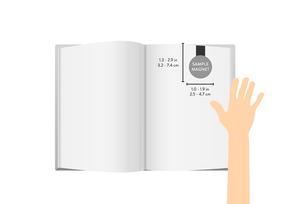 Collect Moments Magnetic Bookmark - Zip & Mos