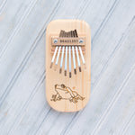 Load image into Gallery viewer, Frog Engraved Thumb Piano - Zip & Mos