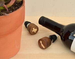 State Themed Wine Stopper - Zip & Mos