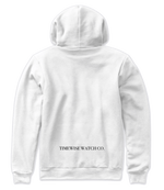 Load image into Gallery viewer, TW Hoodie - Wht - Zip & Mos