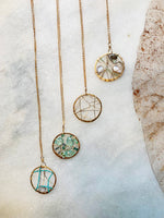 Load image into Gallery viewer, Dream Catcher with Herkimer Diamond - Zip & Mos