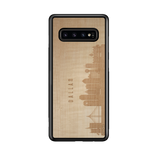 Load image into Gallery viewer, CityScape Wooden Phone Case | Dallas TX - Zip & Mos