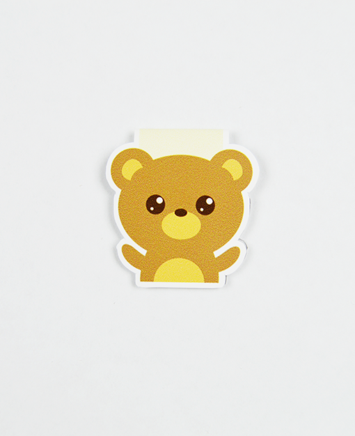 Bear Magnetic Bookmark - Zip & Mos
